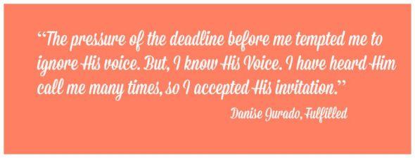 Danise quote