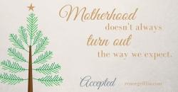 Motherhood accepted